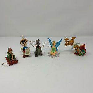 Set of Disney Christmas Ornaments
